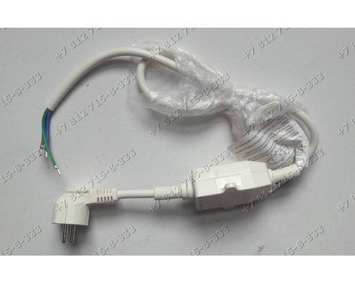 Сетевой шнур (кабель электричекий с УЗО с силой тока до 16 A) для водонагревателя Ariston