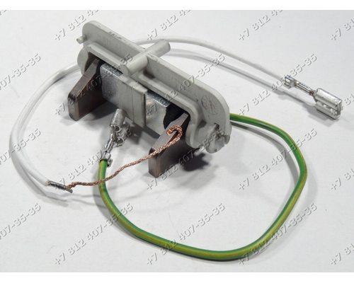 Щетки в сборе 15*5 мм для стиральной машины Miele 5153702, 4490382