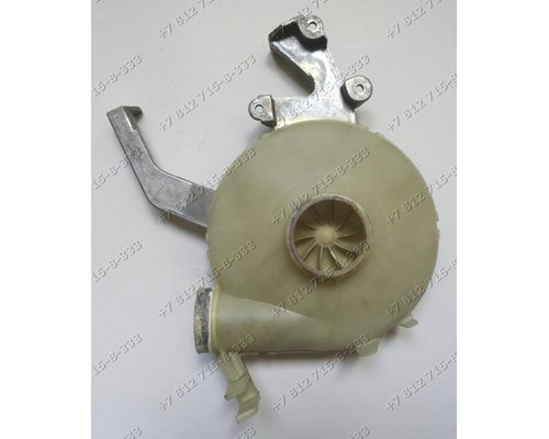 Кожух осевого вентилятора сушки 12405190 для стиральной машины Zanussi