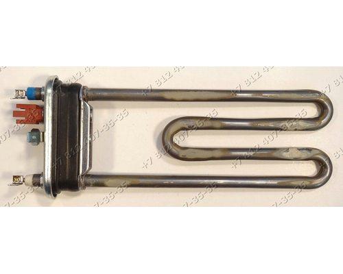 Тэн 1640W 185 мм для стиральной машины Candy Holiday 104F