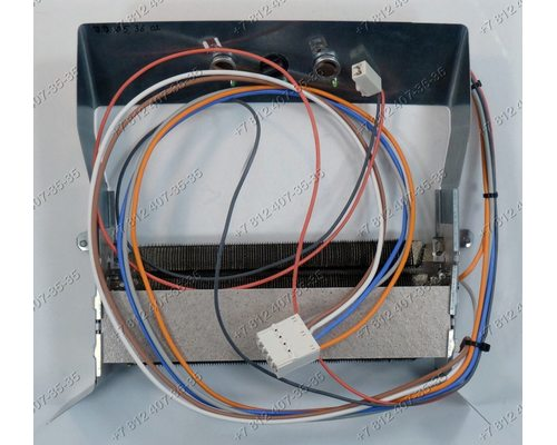 Тэн сушильной машины Ariston TVF651EU/HA, ASL600V(EX), TVF760P, TVF760G, TVF760A, TVF751(EU) ASL700V(EX) Indesit IDVA735(EU), IDVA835(EU) и т.д. 2200W 230V - ОРИГИНАЛ!