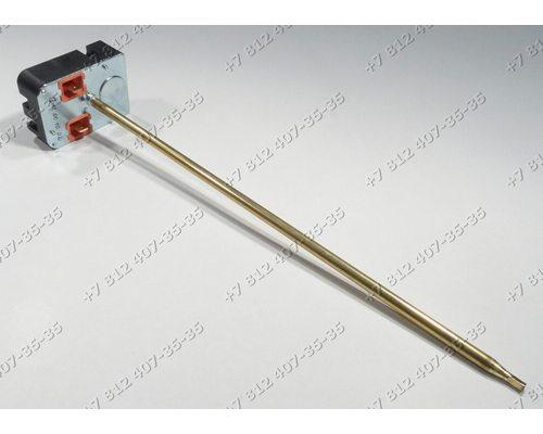 Регулируемый термостат стержневой (прямоугольное основание), 20-80С,  TRS77, CU4805, 20A, L=270 мм для водонагревателя