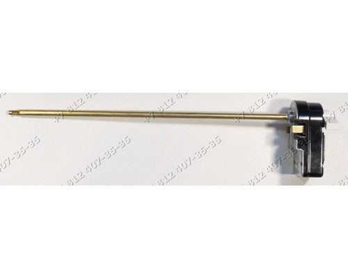 Регулируемый термостат стержневой 72/80C 250V, 15A, L=270 мм, с ручкой, Thermowatt Italy для водонагревателя