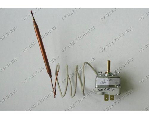 Термостат длина трубки 600 мм 20A до 70 С 3416025 италия thermowatt для водонагревателя Thermex