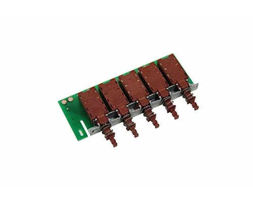 Блок переключателей для вытяжки Ariston 7HHES60IXRU/HA, HE63K, HES90FIX, HTC65, HTC90, HE93X