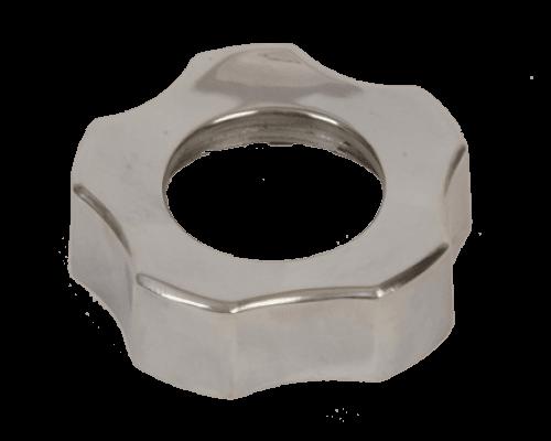 Гайка на корпус шнека для мясорубки Moulinex ME510H, ME512H, ME515H, ME51A1, ME6201, ME6210